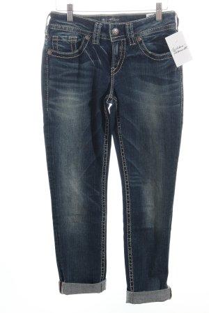 "Silver Jeans Röhrenjeans ""Suki"" dunkelblau"