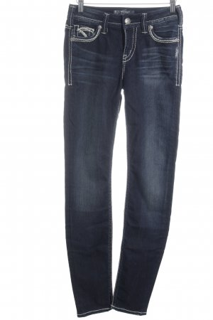 "Silver Jeans Skinny Jeans ""Suki Super Skinny "" dunkelblau"