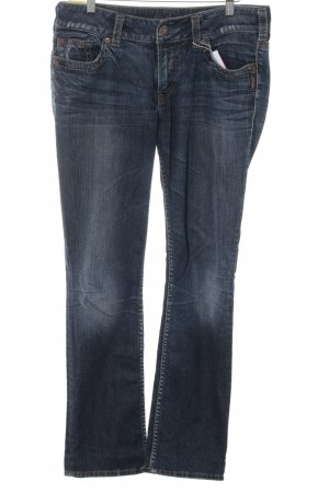 Silver Jeans Slim Jeans dunkelblau Casual-Look