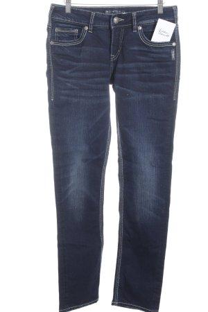 "Silver Jeans Slim Jeans ""SUKI"" dunkelblau"