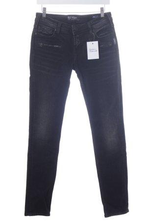 "Silver Jeans Straight-Leg Jeans ""Aiko"" schwarz"