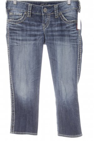 Silver Jeans Straight-Leg Jeans blau Casual-Look