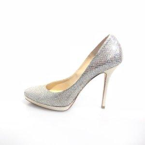 Silver Jimmy Choo High Heel