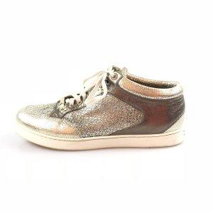 Silver Jimmy Choo Sneaker