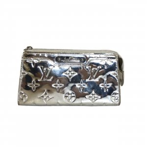 Silver Louis Vuitton MakeUp Bag
