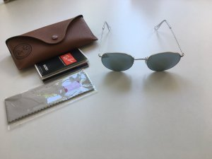 Silver mirrored Sunglasses Ray Ban