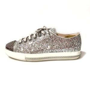 Silver Miu Miu Sneaker