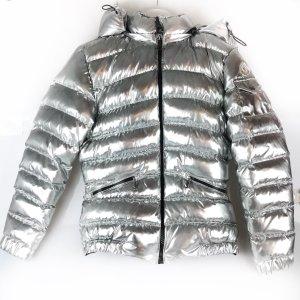 Silver Moncler Jacket