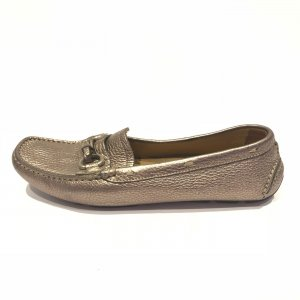 Prada Loafers silver-colored