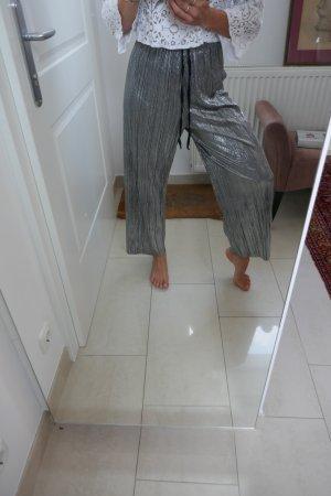 Silver Raver Pants