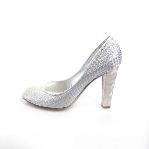 Silver Sergio Rossi High Heel