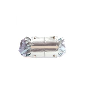 Silver Tod's Cross Body Bag