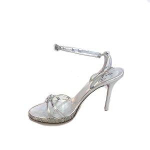 Silver Valentino Flat