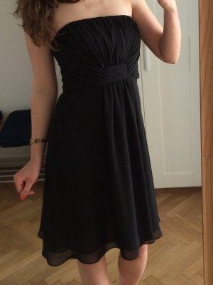 Silvester Abendkleid Abiballkleid schwarz Größe 34