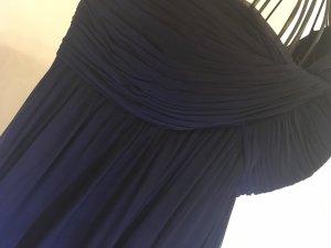 Vestido corte imperio azul oscuro