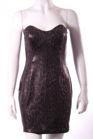 Silvesterkleid: Mango Suit Bustierkleid mit Pailettenaufdruck