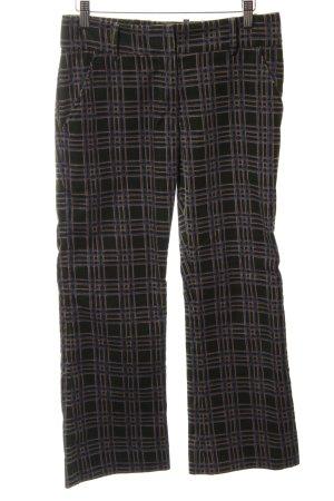 Silvia Tcherassi Corduroy Trousers check pattern Brit look