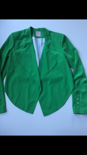 Silvian Heach Blazer, Kurzblazer, grün, Gr.: Xas/36