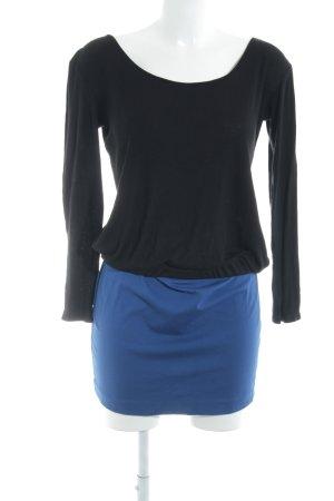 Silvian heach Bleistiftkleid schwarz-blau Business-Look