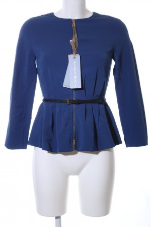 Silvian heach Blouson blau Business-Look