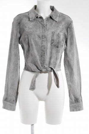 Silvian heach Bodysuit Blouse light grey casual look