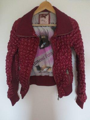Silvian Heach Jacke, Bordeaux Rot, Gr. 36, NEU, nur 2x getragen