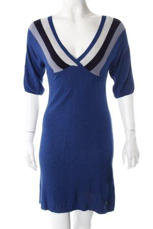 Silvian Heach Kleid blau gemustert