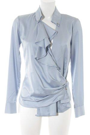 Silvian heach Langarm-Bluse graublau Elegant