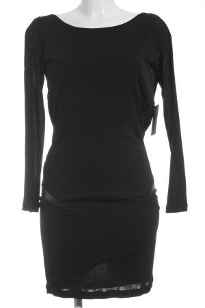 Silvian heach Langarmkleid schwarz Elegant