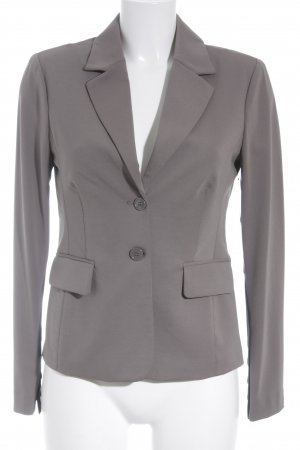 Silvian heach Long-Blazer hellgrau Business-Look
