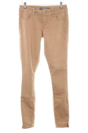 Silvian heach Skinny Jeans beige Casual-Look