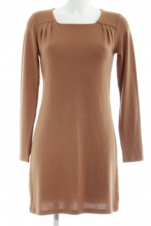 Silvian heach Strickkleid cognac Casual-Look