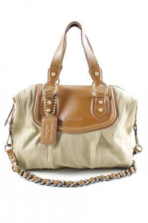 SIlvio Tossi Carry Bag beige-brown casual look