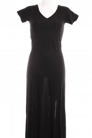 Simclan Maxi Dress black beach look