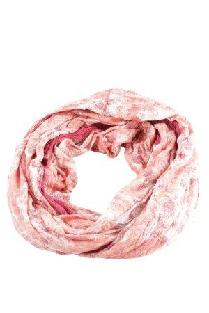 Simclan Bufanda tubo rosa-crema look casual