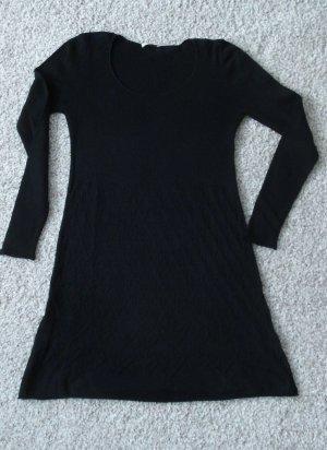 Simclan Vestido tipo túnica negro