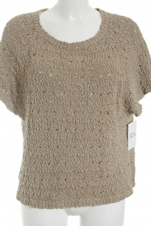 Simclan Strickshirt beige Casual-Look