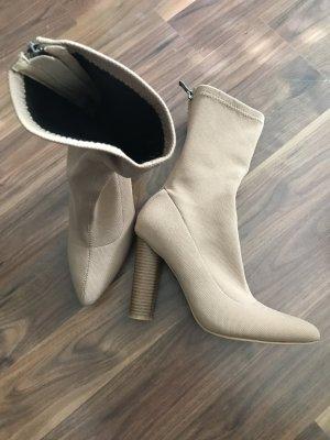 SIMMI shoes boots lycra Stretch mit holzabsatz