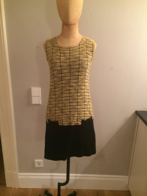 Simona Barbieri Tweed Strick Kleid Gr. 38
