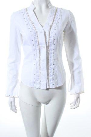 Simone Collection Hemd-Bluse mehrfarbig Eleganz-Look