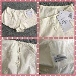 Pantalone pigiama bianco sporco Lycra