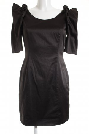 Simple Etuikleid schwarz Elegant