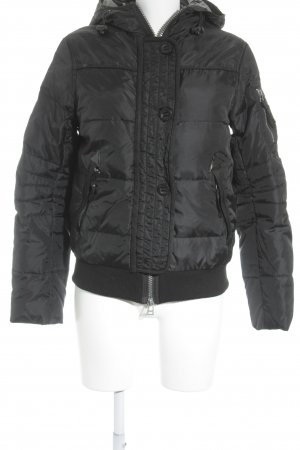 Simply Vee Winterjacke schwarz Casual-Look
