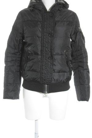 Simply Vee Winterjacke schwarz Casual-Look