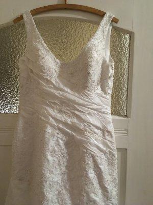 Robe de mariée blanc tissu mixte
