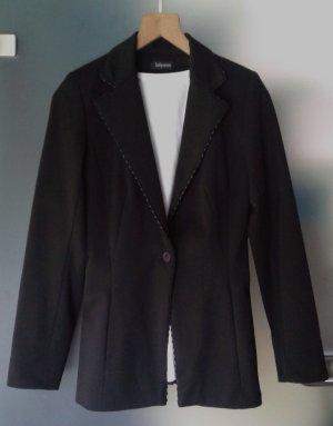Sinéquanone Tuxedo Blazer black mixture fibre