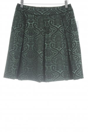 Sinéquanone Plaid Skirt black-dark green minimalist style