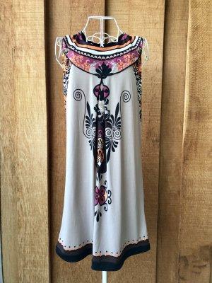 Midi Dress multicolored polyester
