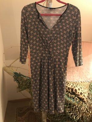 Sinequanone Kleid raffiniertes Muster und Schnitt S 36-38