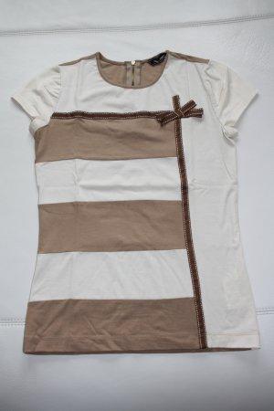 Sinéquanone T-Shirt Gr. 38 (M) beige/braun / wie NEU !